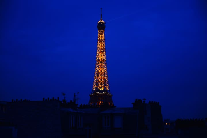 With the great view on Eiffel Tower - Paris - Apartamento
