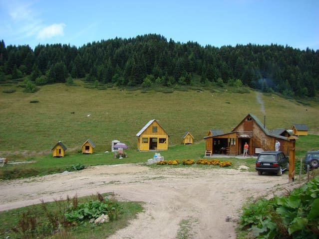 Eco village Kolibe Damjanovica - Opština Mojkovac - Bungalow