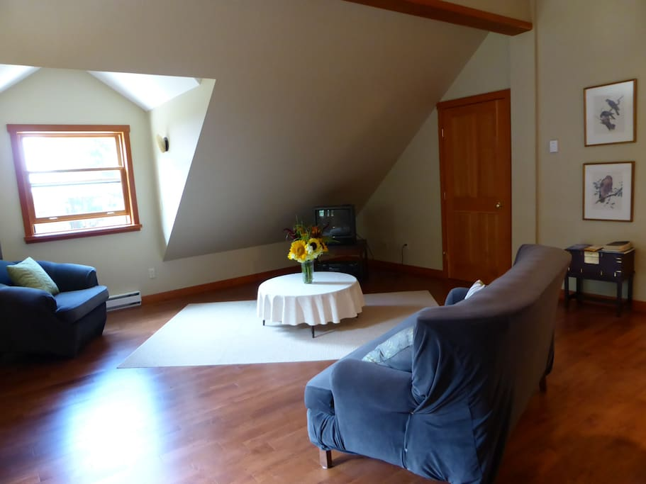 Livingroom view from dining area