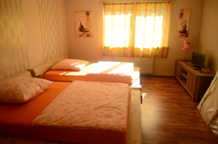 Cozy Double Room Orange 1st Floor - Gründau - Apartamento