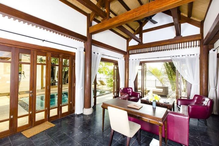 Scenic Pool Villa on Saigon River!
