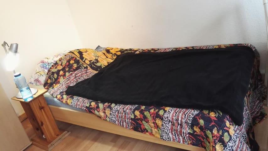 a small bed for crashing in city center - Bremerhaven - Apartamento