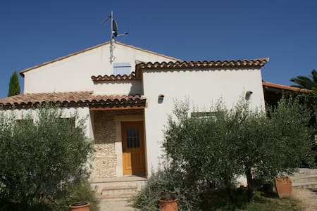 Belle villa provençale avec piscine - Villevieille - House - 1