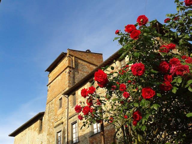 CAMERA TORRE IN ABBAZIA a Perugia - Piegaro - Castle