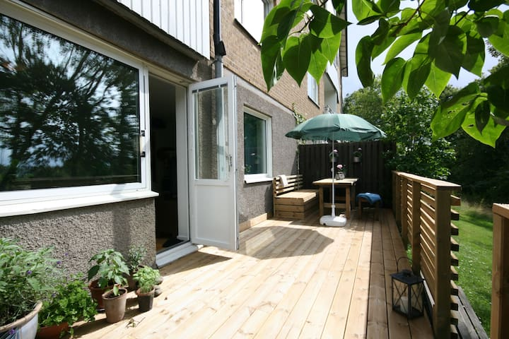 Cosy apartment with terrace - Mölndal - Apartment