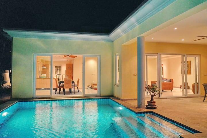 美逸家@简欧风格豪华无边泳池别墅Euro style pool villa