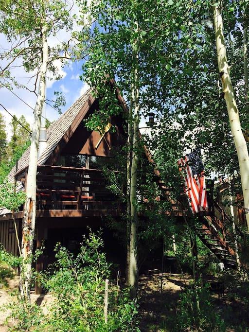 The grand escape affordable cabin great location for Grand lake colorado cabin rentals