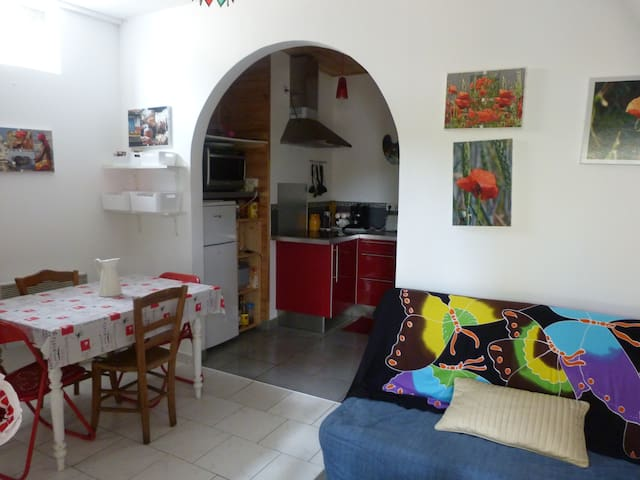 PETIT APPARTEMENT - ST LEON D'ISSIGEAC - Apartment