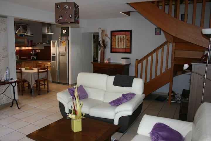 Maison 4 chambres à Tournon centre. - Tournon-sur-Rhône - Haus