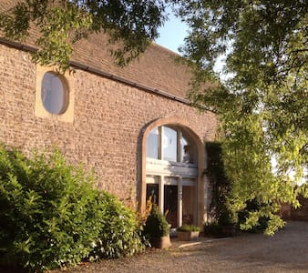 Converted Barn (2 rooms sleeps 5) - Woolverton - Hus