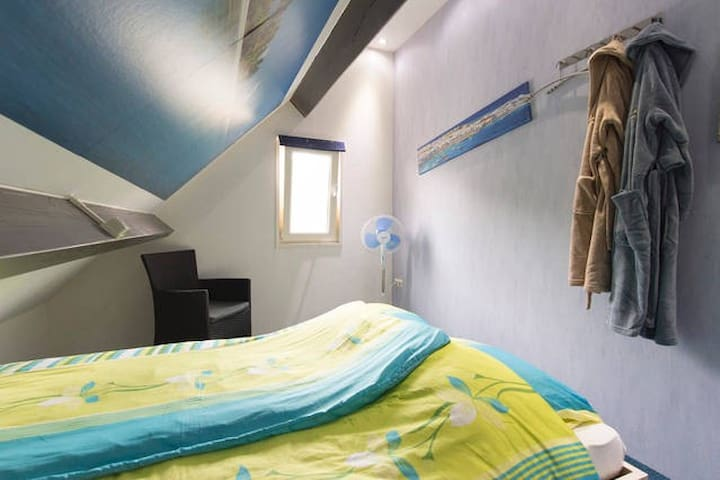 B & B Drentse Zon / Island room - Nieuw-Amsterdam - Bed & Breakfast
