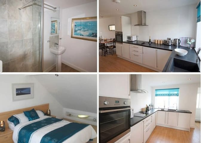 1 bed holiday home for 2/4 with some sea views