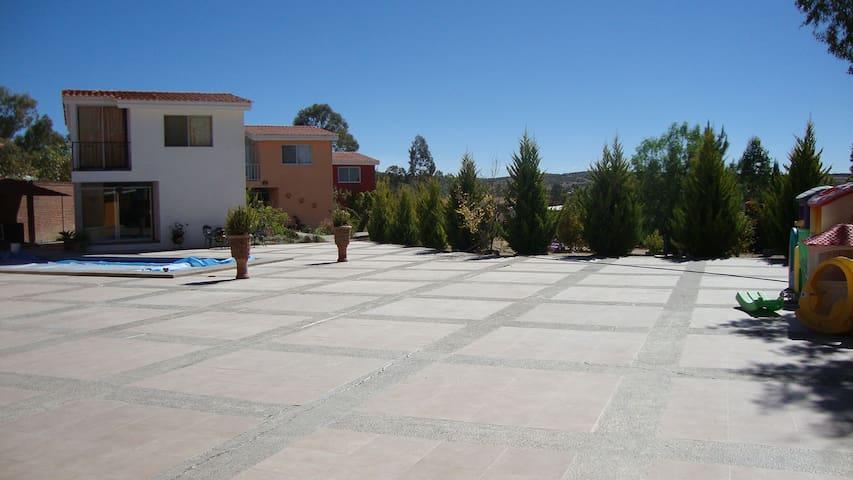 Casa de Campo en Comanja - Lagos de Moreno - Natuur/eco-lodge