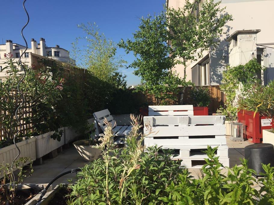 Appartement familial avec terrasse appartements louer for Appartement paris avec terrasse