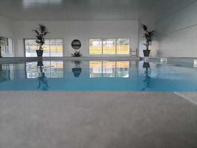 Gîte neuf avec piscine proche mer et golf 5