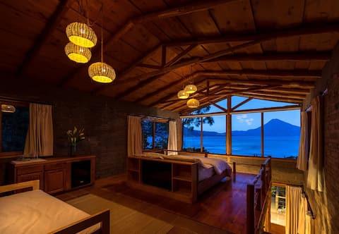 1 Bd villa with spectacular views nature & hot tub