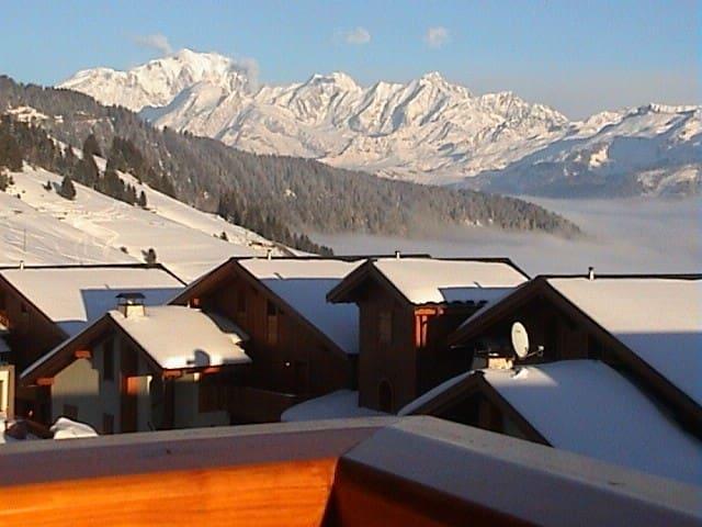 Appartement standing vue Mont-Blanc et Beaufortain