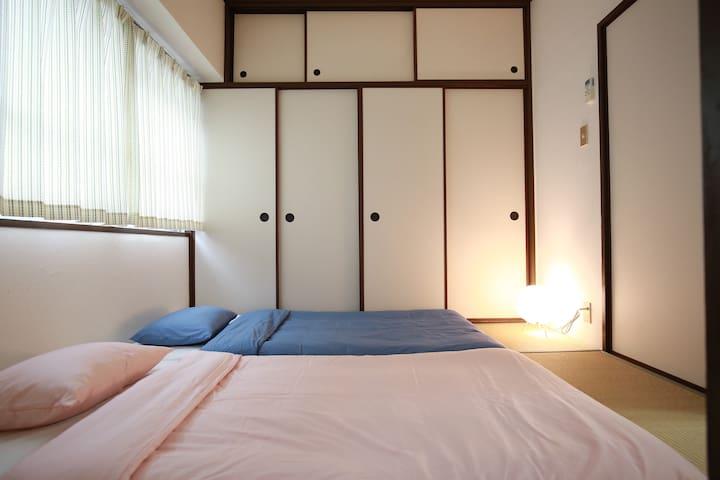 新大阪站附近,新幹線去京都、梅田便利、榻榻米日式套房,地铁方便 - Yodogawa-ku, Ōsaka-shi - Apartment