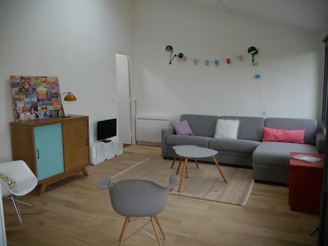Studio de charme - Villennes-sur-Seine - Cabin