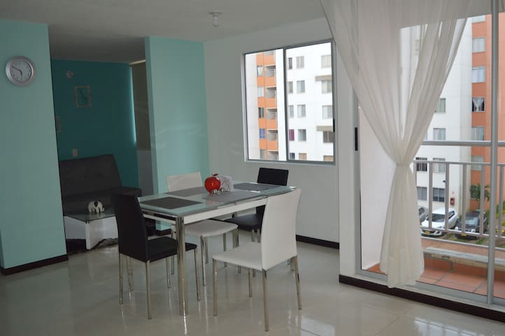 New Apartment With 2 Private rooms, Valle del Lili - Cali - Apartemen