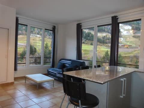 apt 1 br 2/4 pers. 200m from the slopes HUT5388