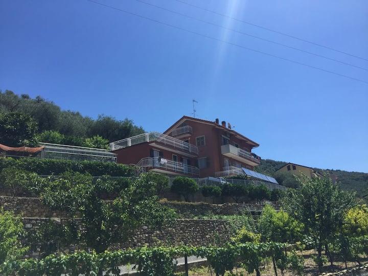 Agriturismo La Rocca - Appartamento con vista mare