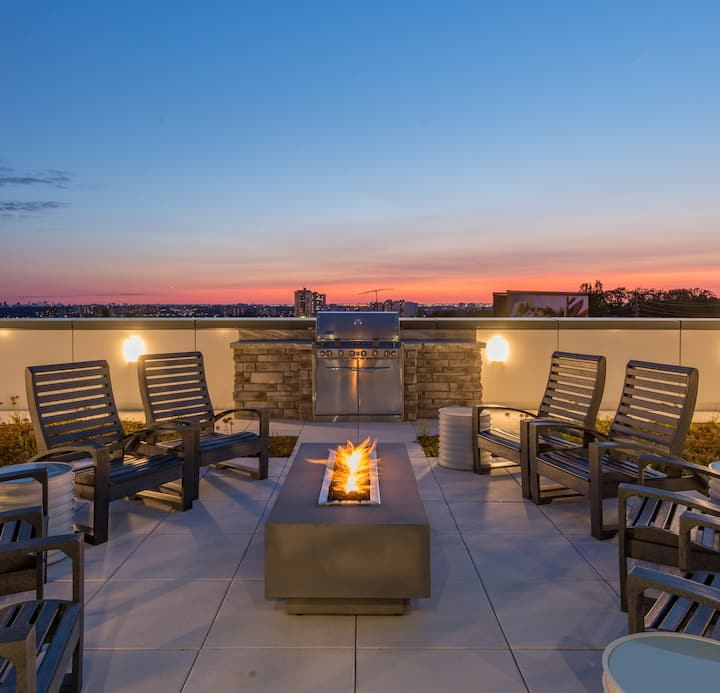 Rooftop Green Patio Event Space