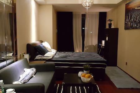 2016-羅湖中心 Luxury酒店公寓(每入住2晚,贈送價值¥299原裝進口意大利起泡酒一支) - Appartement