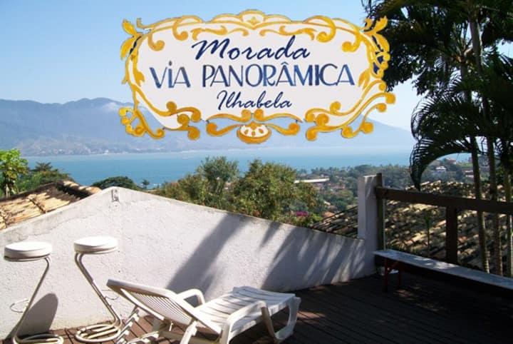 Vila Panorâmica Ilhabela - apto com vista p o mar