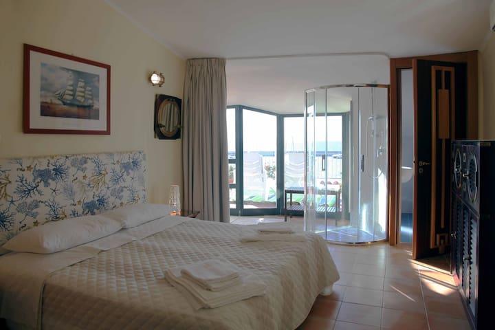 Splendida stanza sul porto - Agropoli - Dom