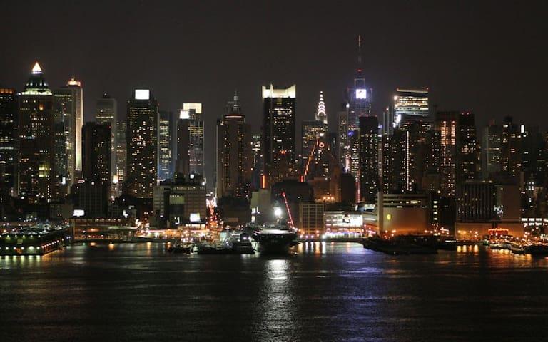 15 Minutes to Manhattan - West New York - Wohnung