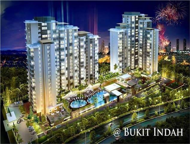 Luxurious Condo 3R2B Bukit Indah near Legoland - Johor Bahru - Apartment
