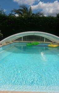 Villa ensoleillée avec piscine - Lunel - Hus