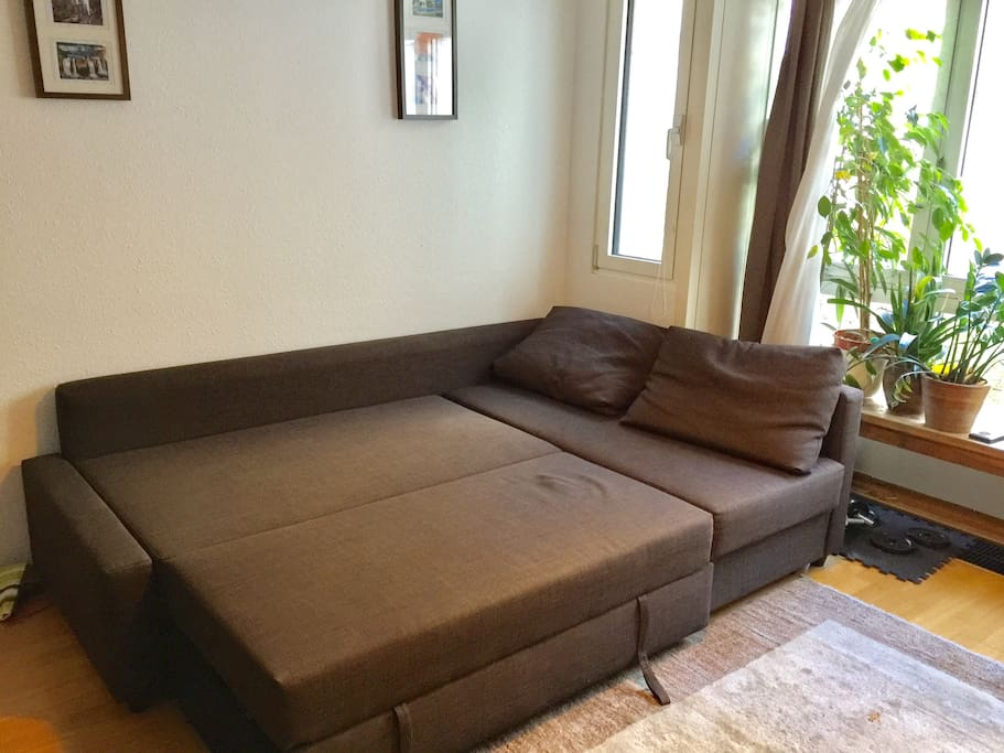 Sofa (extra bed for 2 persons)