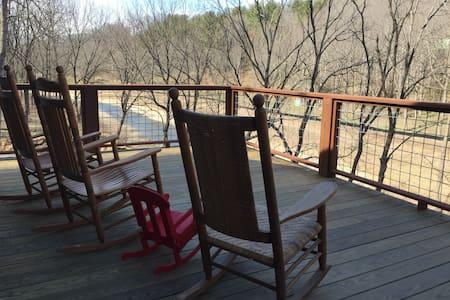 Riverfront cabin - Burnsville - Srub