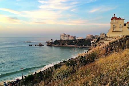 Côte des Basques - 50m de l'Ocean