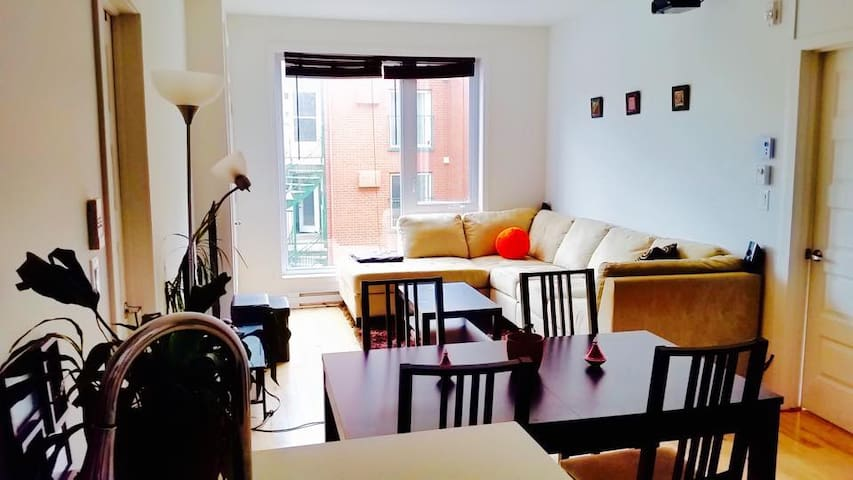 Lovely and sunny appartement - Montreal - Departamento