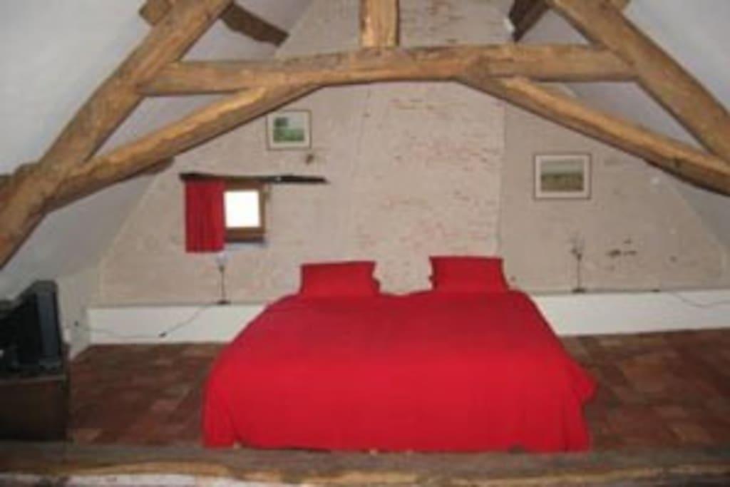 Le Chêne - grote slaapkamer 1e etage