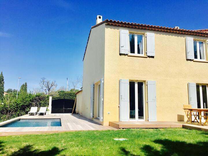 Maison à Aix, coeur de la Provence