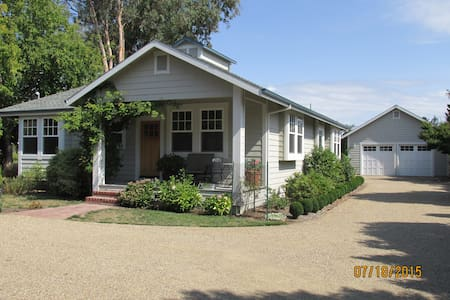 Charming Wine Country Bungalow