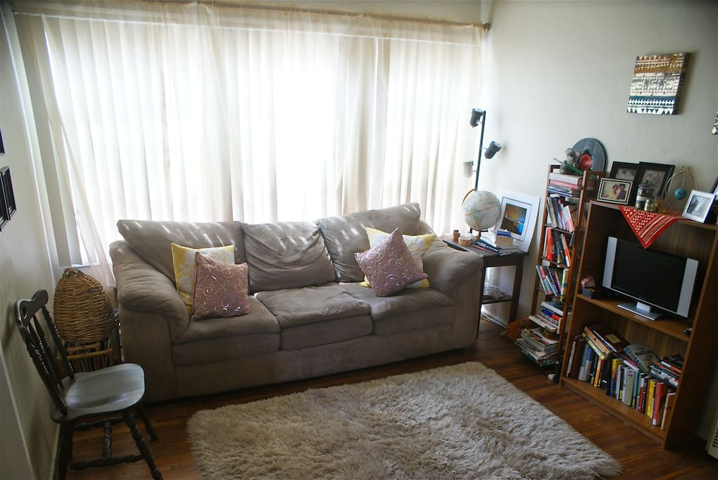 make yourself at home in our living room