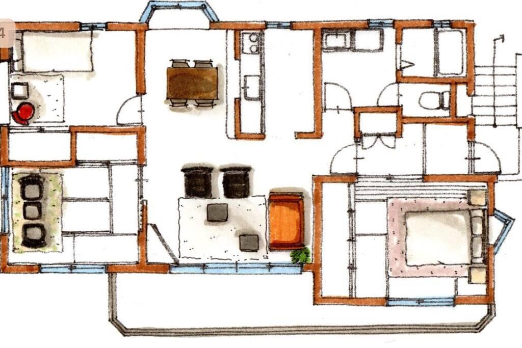 間取り図 / Floor plan