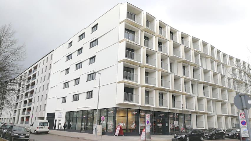 Hochwertige Neubau Wohnung in München Nähe Messe