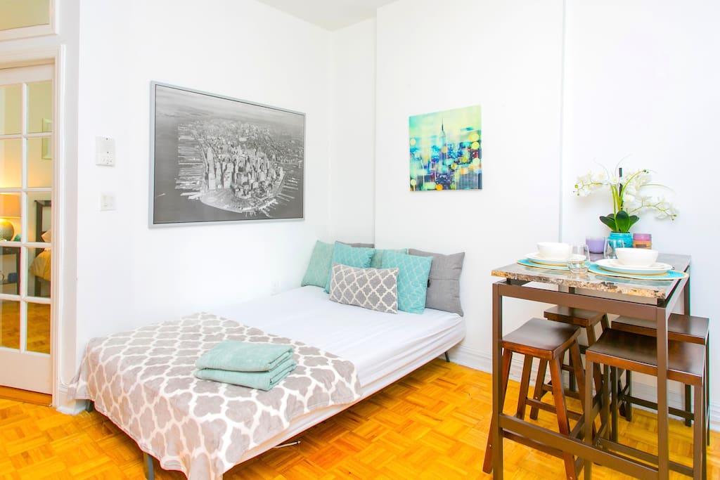 Enjoy a luxurious 4 bedroom unit in one of New York's favorite neighborhoods