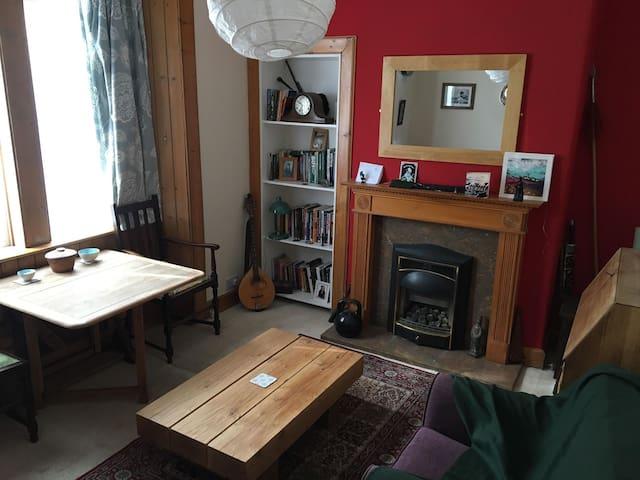Quiet, cosy ground floor flat in Musselburgh