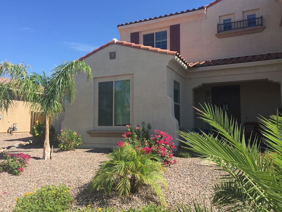 private welcoming desert casita houses for rent in gilbert arizona united states