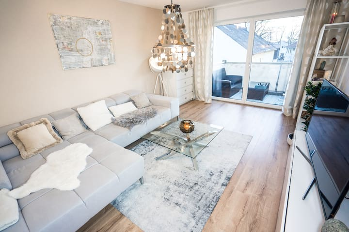 modern clean Apartment close to TUM and airport