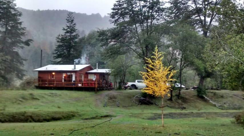 Cabaña cordillerana hermoso entorno - Pucón - Rumah
