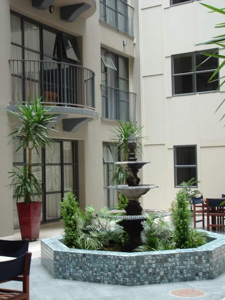 Large studio apartment at Atrium Towers