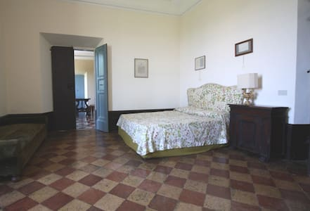 Cozy Room Cedar in ancient Villa - Offagna - 別荘